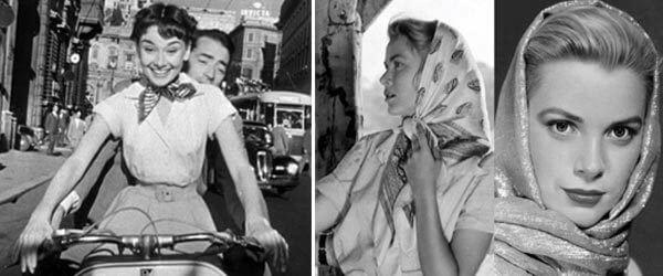 Sciarpe e foulard dive anni 50